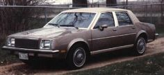 1981 Buick skylark. Mom bought this when I was 16 so I could take her to work and to the store.