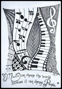 tattoo - mandala - art - design - line - henna - hand - back - sketch - doodle - girl - tat - tats - ink - inked - buddha - spirit - rose - symetric - etnic - inspired - design - sketch Easy Mandala Drawing, Mandala Art Lesson, Doodle Art Drawing, Zentangle Drawings, Zentangle Patterns, Zentangles, Zantangle Art, Zen Art, Music Drawings