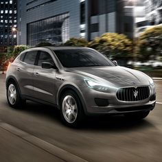 maserati is coming out with an SUV.. pretty amazing and totally unexpected.. will ferrari follow?
