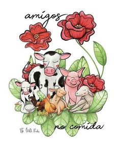 Si deseas que llevemos pláticas de Veganismo a tu escuela o empresa solicitalas son completamente gratuitas. Vegan Animals, Farm Animals, Sweet Little Things, Vegetarian Lifestyle, Why Vegan, Cute Pigs, Animal Quotes, Animal Rights, Vegan Life