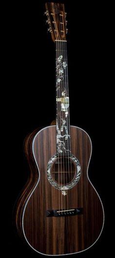 """""""Pan God"""" Parlour Guitar by Patrick James Eggle"""