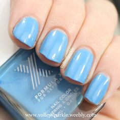 Formula X for Sephora Continuum Nail Color | Review & Swatches