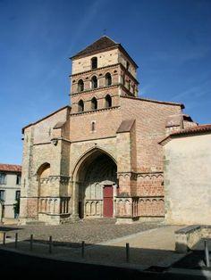 Landes : Aire-sur-l'Adour : Église Sainte-Quitterie - France-Voyage.com
