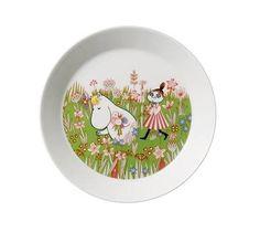 By Arabia - Mumi Tallerken Moomin Mugs, Helsinki, Tove Jansson, Plates And Bowls, Hygge, Dinnerware, Scandinavian, Decorative Plates, Finland