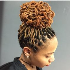 Loc maintenance, curls, updo by StyleSeat Pro, Locs By Lo | Locs By Lo in…