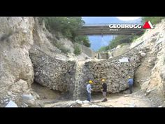 Geobrugg AG: Protection systems for rockfall, debris flow, slope instability, mining, avalanche