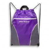f5f325116391 High Trails Girls Purple Silver Sport Drawstring Bag Tote - SophiasStyle.com  Gymnastics Wear,