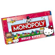 Did you know that Hello Kitty had her own Monopoly game?  Evidently she does.
