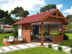 Pergola For Small Backyard Outdoor Gazebos, Outdoor Landscaping, Outdoor Rooms, Outdoor Living, Outdoor Structures, Outdoor Bbq Kitchen, Outdoor Kitchen Design, Patio Design, Backyard Buildings