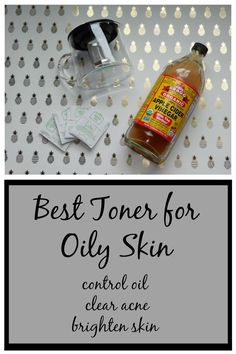 DIY toner recipe for oily skin-controls oil, clears acne, and brightens skin. Natural and Simple to make.