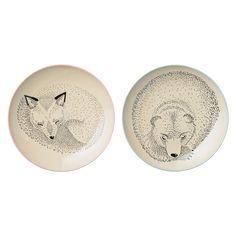 Bloomingville Teller Adelynn Bear/Fox Fox