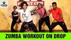 Zumba Workout On Drop | Drop by Diplo & DJ Snake |  Zumba Videos | Chore...