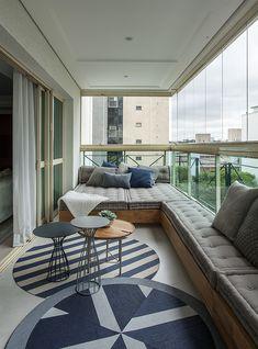 Interior Balcony, Apartment Balcony Decorating, Balcony Furniture, Apartment Balconies, Apartment Interior, Home Decor Furniture, Home Decor Bedroom, Diy Home Decor, Small Balcony Design