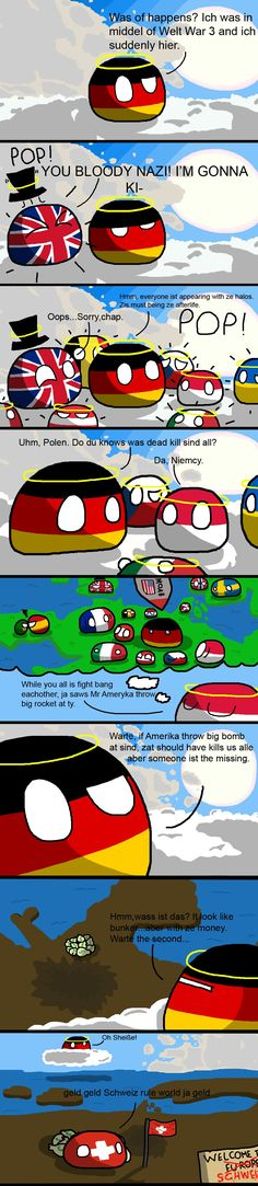 Switzerland inherits the world