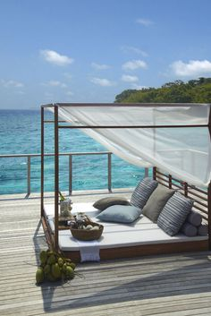 Escape to Dusit Thani Maldives to relax and unwind from your hectic and chaotic lifestyle of the modern world