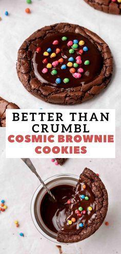 Gourmet Cookies, Cookie Desserts, Yummy Cookies, Just Desserts, Delicious Desserts, Yummy Food, Giant Cookies, Stuffed Cookies, Cookie Cakes