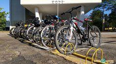 Fim do passeio de bike em SP no MAC USP
