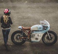 Honda vintage racer custom