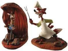 "Song of the South - Brer Rabbit - ""Cooking up a plan"" Production Year Limited 2010	$225 Companion piece to Brer Fox: ""Last Laugh"". Sold as a set only. Brer Rabbit is plussed with a pewter pole.  Limited to the production year of 2010 Product Size: Brer Rabbit: 6.25 inches tall Brer Fox: 6.75 inches tall"
