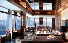 Ritz Carlton Suite, Living Room. © The Ritz-Carlton Hotel Company