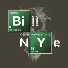 Bill Nye the Science Guy by Alex Boatman