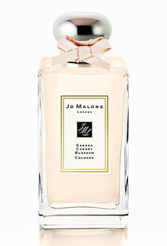 """Brides.com: . Best Modern Floral. Our """"go-to spring scent,"""" Jo Malone Sakura Cherry Blossom cologne, has an intriguing blend of citrus, musk, and roses. Jo Malone, $105 for 100 milliliters."""