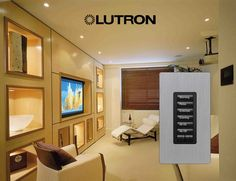 Lutron Shades  http://premierlightingsolutions.co/lutron-serena-shades/