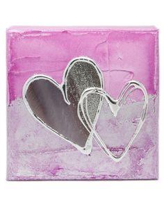 Pink Artbloxx 03 Silver Wall Art, Small Canvas, Art Uk, Contemporary Art, Pink, Contemporary Artwork, Pink Hair, Roses, Silver Wall Decor