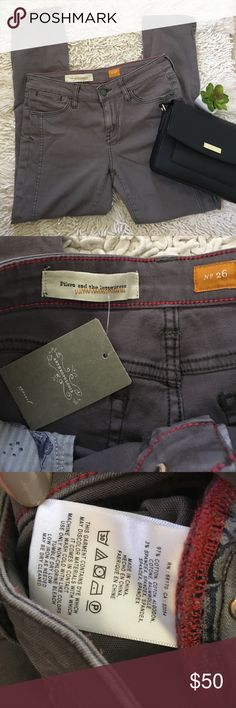 🆕 Anthropologie Pilcro Stet Ankle Jeans Grey 26 Brand new never worn. Anthropologie Jeans Ankle & Cropped