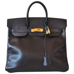 Hermes Birkin HAC 32 Courchevel Black 6000euro
