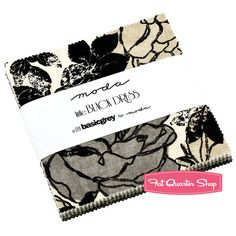 Little Black Dress Charm Pack BasicGrey for Moda Fabrics - OMG I think I need to make something out of this!