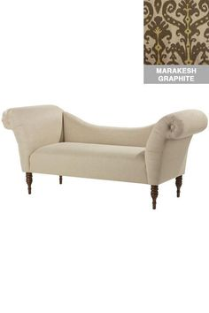 Roll Arm Chaise