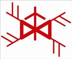 powerful rune talisman to attract money, Hindu Symbols, Alchemy Symbols, Magic Symbols, Symbols And Meanings, Viking Symbols, Ancient Symbols, Money Spells, Tattoo Script, Wiccan Crafts