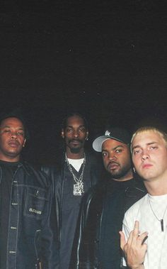 Dre, Snoop Dogg, Ice Cube & Eminem and no offense but mumble rap sucks Mode Hip Hop, 90s Hip Hop, Hip Hop Rap, Snoop Dogg, Hip Hop Monster Bts, Jamel Shabazz, Charlie Brown Jr, Rap God, Love N Hip Hop