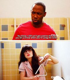New Girl - Jess & Winston #Season1