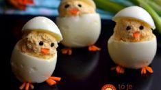 Naučte sa tento vajíčkový trik a môžete ich podávať aj na slávnostnom stole! Cheesy Recipes, My Recipes, Easter Recipes, Holiday Recipes, Mimosas, Romanian Food, Pasta, Hungarian Recipes, Easter Dinner