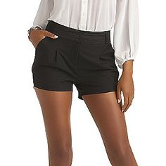 Kardashian Kollection Women's Tuxedo Shorts