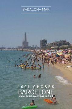 PLAGE - Pour fuir les foules du centre de Barcelone, rendez-vous sur la plage de Badalona à moins de 30 minutes en métro de la ville.