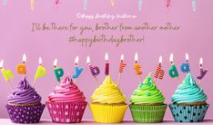 Happy Birthday Brother Wishes, Birthday Message For Friend, Beautiful Birthday Wishes, Best Friend Birthday Cards, Happy Birthday Messages, Birthday Greetings, Messages For Friends, Birthday Candles, Birthdays