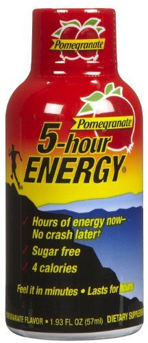5 Hour Energy Drink Pomegranate Flavor 24 Pack « Blast Grocery Energy Shots, Energy Drinks, Coffee Nutrition, 5 Hour Energy, Premium Coffee, Calories A Day, Nutrition Information, Everyday Food, Amino Acids