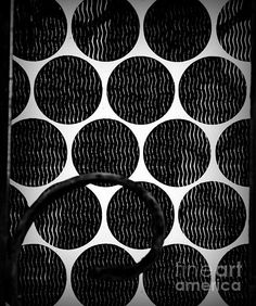 Abstract with Metal - photograph by James Aiken. Fine art prints for sale. #abstractart #geometricdesign #blackandwhite