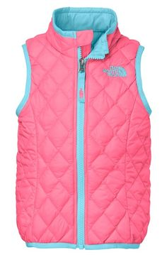The North Face 'ThermoBall™' PrimaLoft® Vest (Baby Girls) available at #Nordstrom