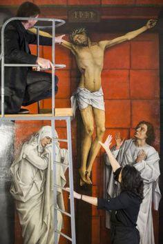 'El Calvario' resucitado: En el taller con Van der Weyden | Babelia | EL PAÍS
