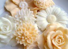 "Handmade soap collection ""Flower Market No. 2"" $18 #SatinandBirch on Etsy"