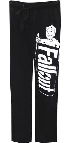 Fallout Logo Black Lounge Pants