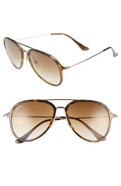 ab758a5fed Ray-Ban 57mm Pilot Sunglasses