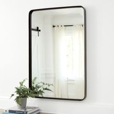 Where to buy a Halstad framed bathroom Mirror? Discover stylish new interior wall furnishings from Ballard Designs and find the perfect Halstad Mirror for your perfect home! Interior Walls, Decor Interior Design, Interior Decorating, Decorating Bathrooms, Interior Ideas, Decorating Tips, Bathroom Mirror Design, Master Bathroom, Bathroom Styling