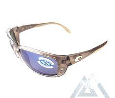 743bebd595282 Costa Del Mar Zane Sunglasses - Crystal Bronze Frame - Polarized Blue Mirror  400G Lens