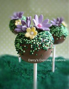 Spring cake pop - by DarcysCupcakes @ CakesDecor.com - cake decorating website
