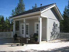 KANNUSTALO - Mallistot - Asiakasvalokuvia Outdoor Sauna, Outdoor Decor, Tiny House Movement, Future House, Garage Doors, Small Homes, Tiny Houses, Cottages, Interior